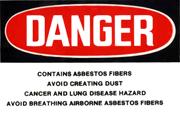 asbestossign